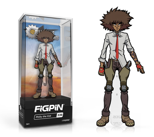 [PRE-ORDER] FiGPiN: Cannon Buster - Philly the Kid #336