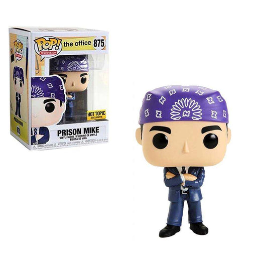 Funko POP! The Office - Prison Mike Vinyl Figure #875 Hot Topic Exclusive (NOT 100% MINT)