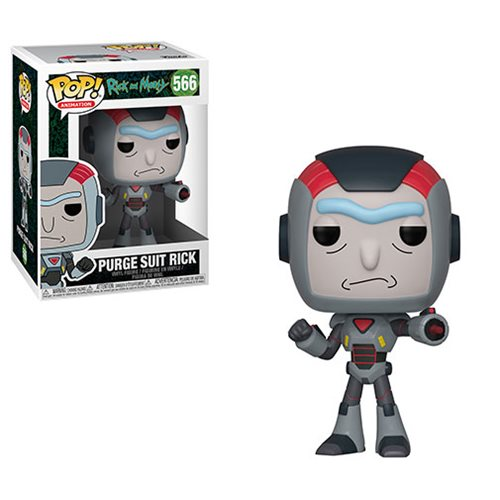 Funko POP! Rick & Morty: S6 - Purge Suit Rick Vinyl Figure #566