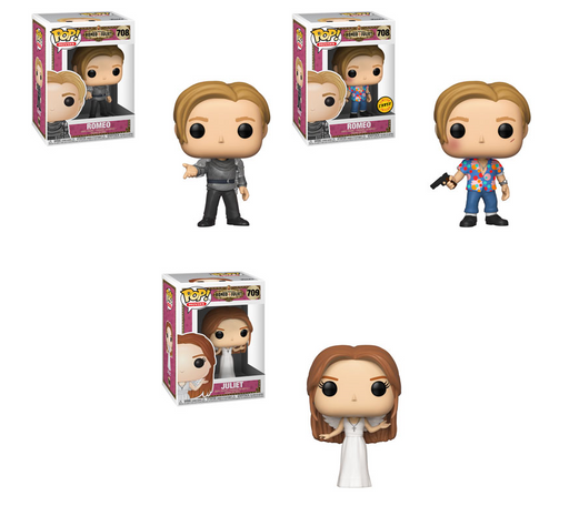 Funko POP! Romeo and Juliet - Complete Set of 3 Chase Included