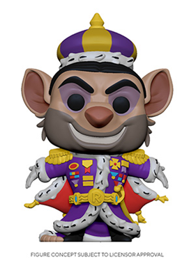 [PRE-ORDER] Funko POP! Disney: The Great Mouse Detective - Ratigan Vinyl Figure