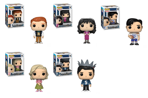 Funko POP! Riverdale - Wave 2 Complete Set of 5