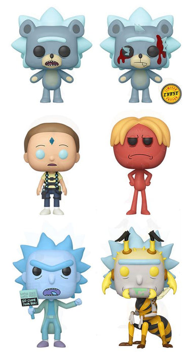 Funko POP! Rick and Morty - Set of 6