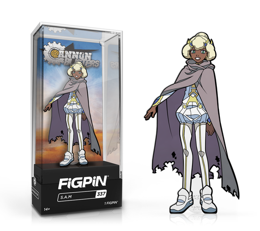 [PRE-ORDER] FiGPiN: Cannon Buster - S.A.M. #337