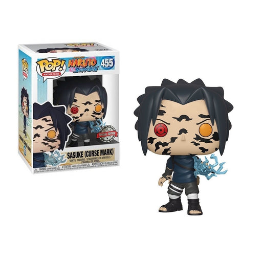 [PRE-ORDER] Funko POP! Naruto Shippuden - Sasuke (Curse Mark) Vinyl Figure #455 Special Edition Exclusive [READ DESCRIPTION]