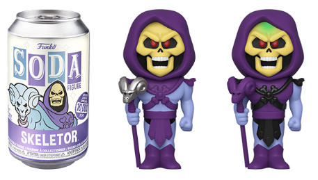 [PRE-ORDER] Funko Vinyl SODA: Masters of the Universe - Skeletor Vinyl Figure