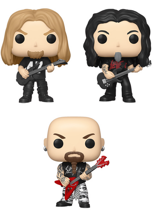 [PRE-ORDER] Funko POP! Rocks: Slayer - Set of 3