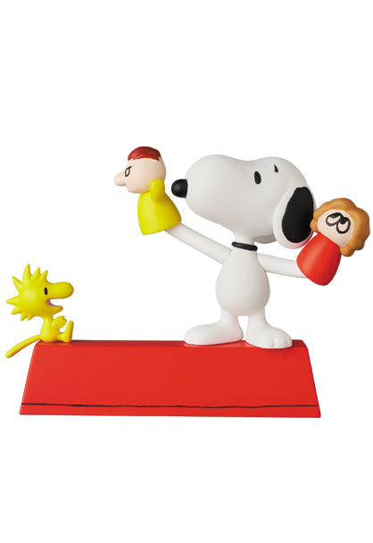 [PRE-ORDER] Medicom Toy: Peanuts - Puppet Snoopy & Woodstock (Ultra Detail Figure)