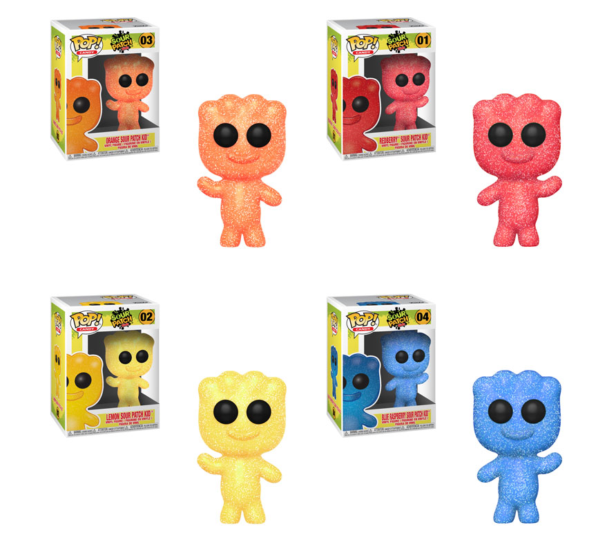 Funko POP! Sour Patch Kids - Complete Set of 4