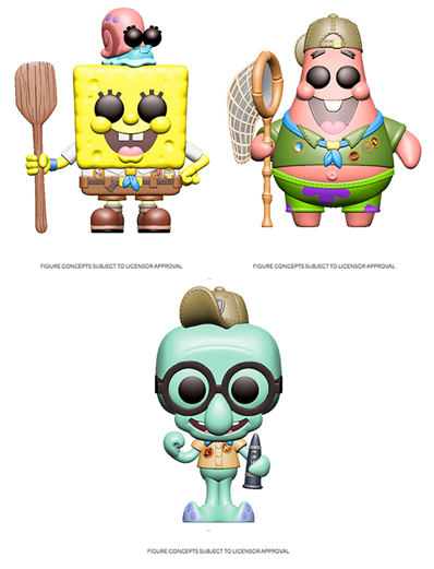 [PRE-ORDER] Funko POP! Spongebob Squarepants (Uniform) - Set of 3