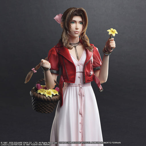 [PRE-ORDER] SQUARE ENIX: FINAL FANTASY® VII REMAKE PLAY ARTS -KAI- ™ - Aerith Gainsborough Action Figure