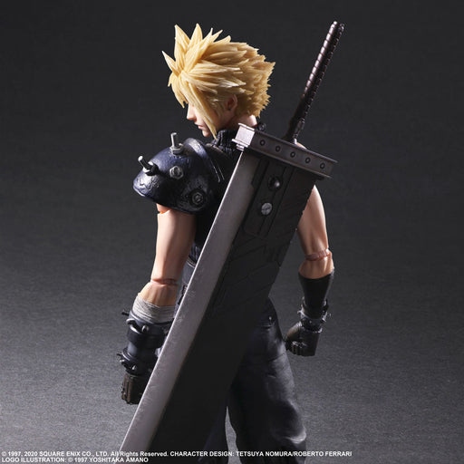 [PRE-ORDER] SQUARE ENIX: FINAL FANTASY® VII REMAKE PLAY ARTS -KAI- ™ - Cloud Strife (Version 2) Action Figure