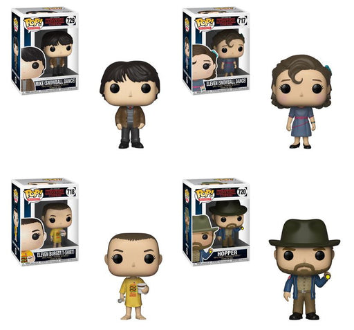 Funko POP! Stranger Things - Season 3 Complete Set of 4