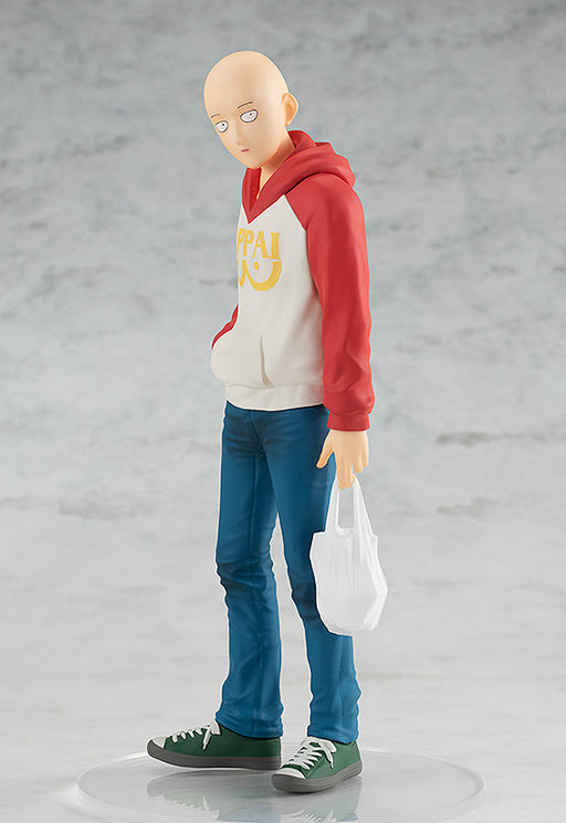[PRE-ORDER] Good Smile Company: One Punch Man - Pop Up Parade Saitama (Oppai Hoodie Version)