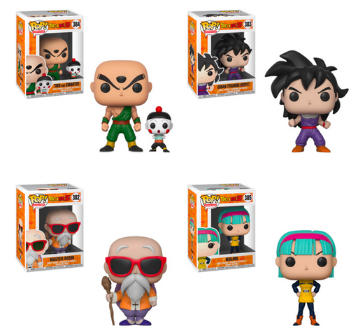 Funko POP! Dragon Ball Z - Season 4 Complete Set of 4