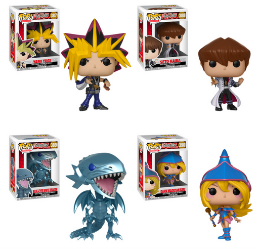 Funko POP! Yu-Gi-Oh! Complete Set of 4