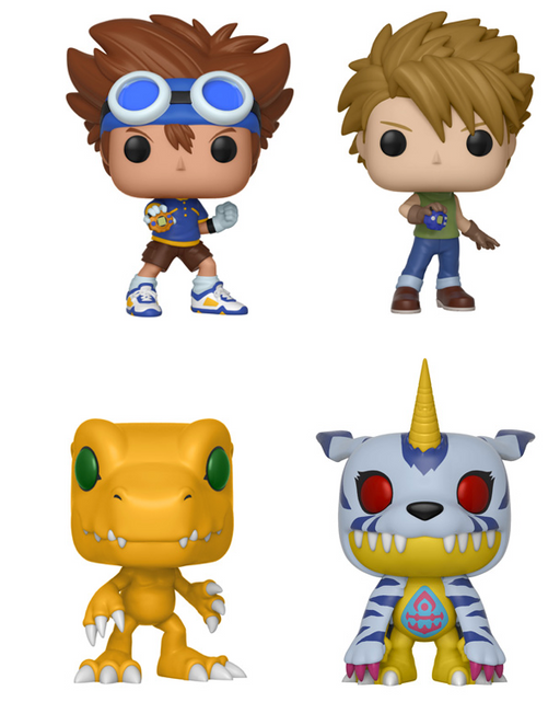 Funko POP! Digimon - Complete Set of 4