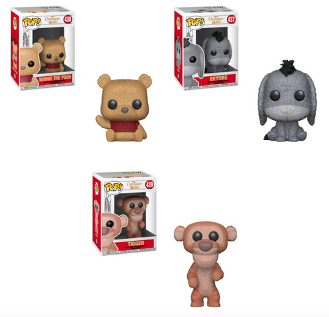 Funko POP! Christopher Robin - Complete Set of 3