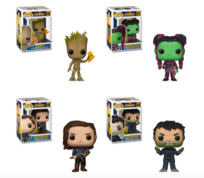 Funko POP! Avengers: Infinity War - Series 2 Complete Set of 4
