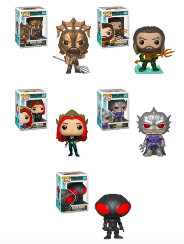 [PRE-ORDER] Funko POP! Aquaman - Complete Set of 5