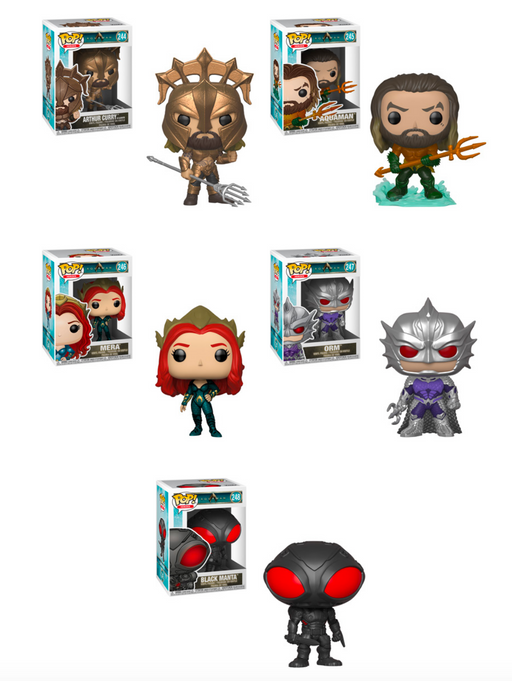 Funko POP! Aquaman - Complete Set of 5