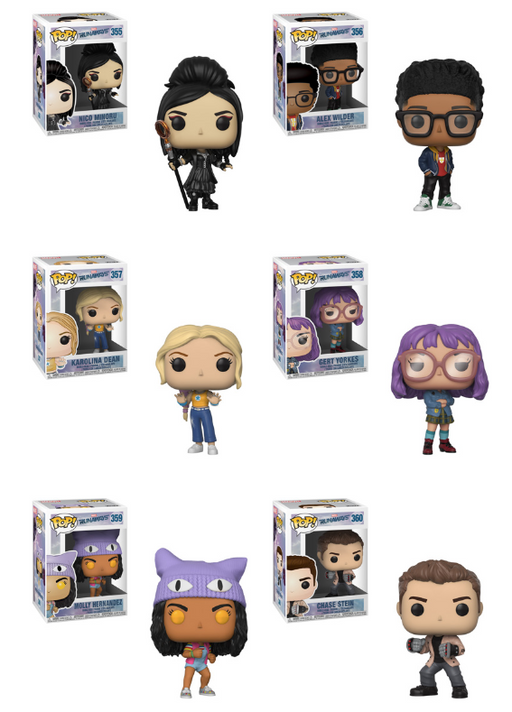 Funko POP! Runaways - Complete Set of 6