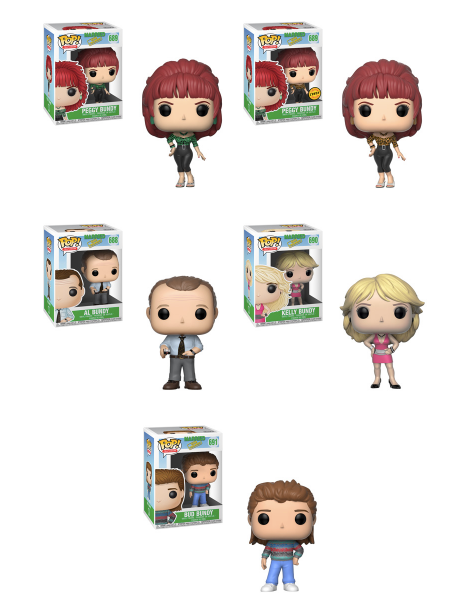 Funko POP! Married with Children - Complete Set of 5