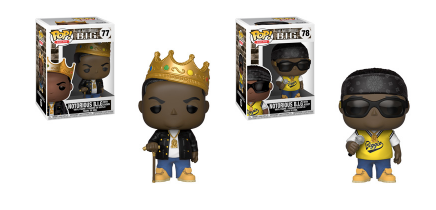 Funko POP! Rocks: Notorious B.I.G. - Complete Set of 2