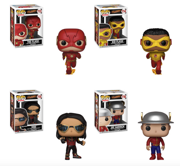 Funko POP! The Flash - Complete Set of 4