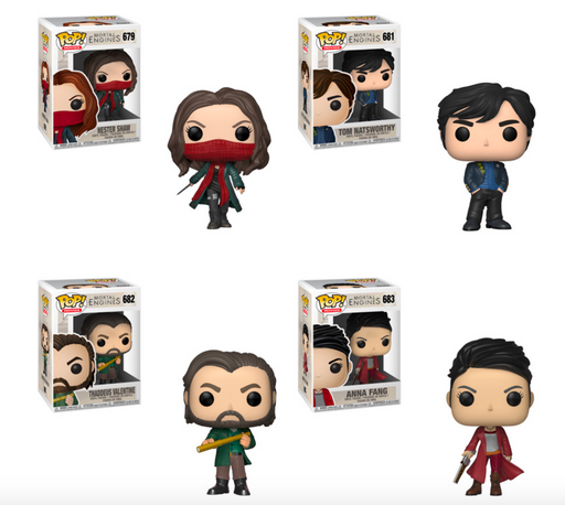 Funko POP! Mortal Engines - Complete Set of 4