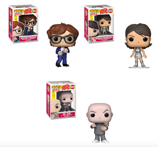 Funko POP! Austin Powers - Complete Set of 3