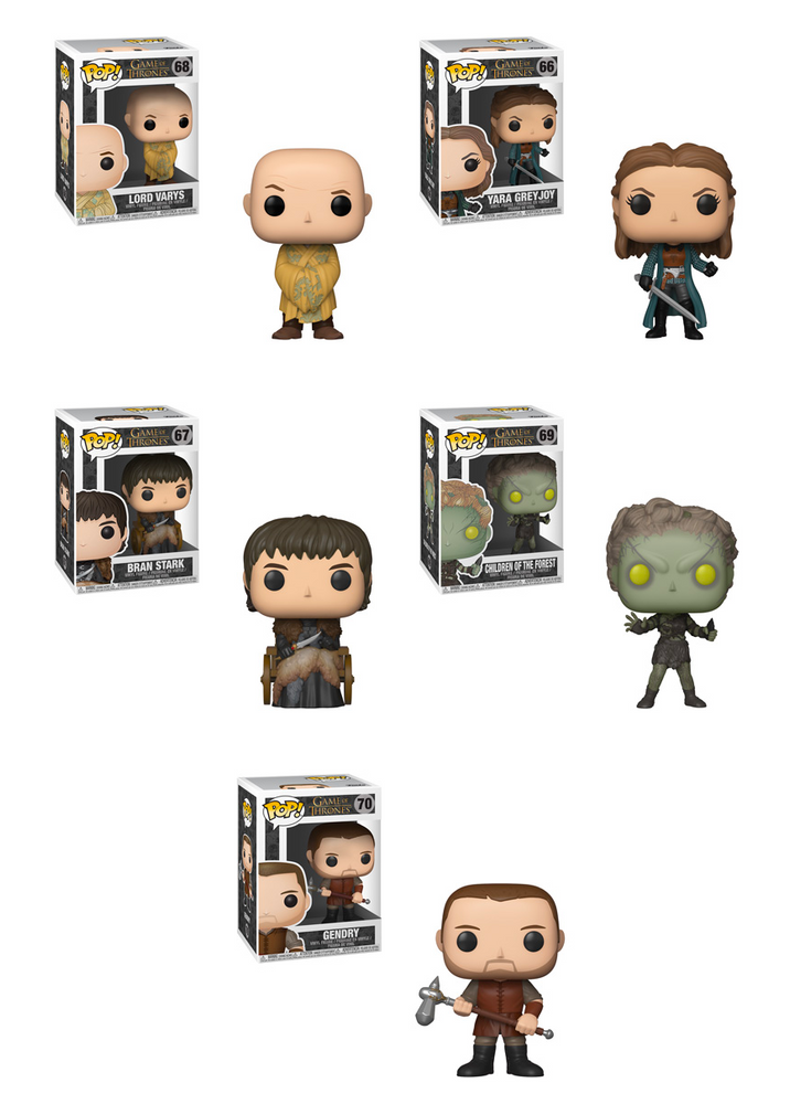 Funko POP! Game of Thrones - S9 Complete Set of 5