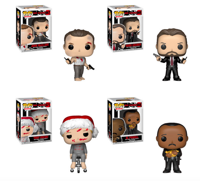 Funko POP! Die Hard - Complete Set of 4