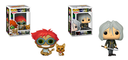 Funko POP! Cowboy Bebop - Season 2 Complete Set of 2