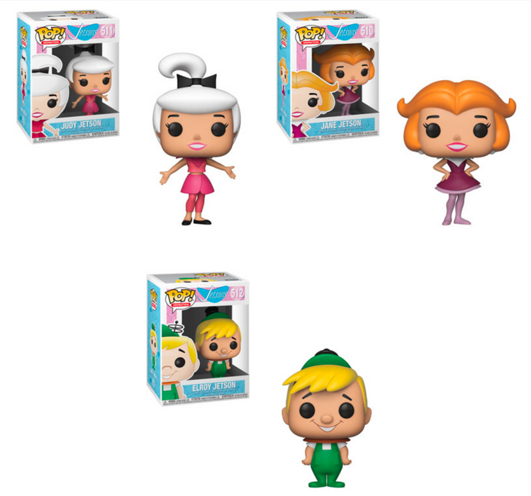 Funko POP! The Jetsons - Wave 2 Set of 3 (Jane, Elroy, Judy)