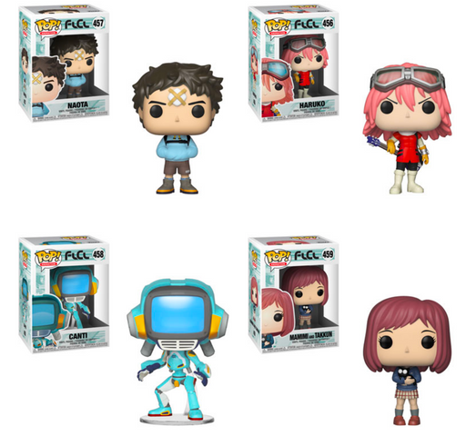 Funko POP! FLCL - Complete Set of 4