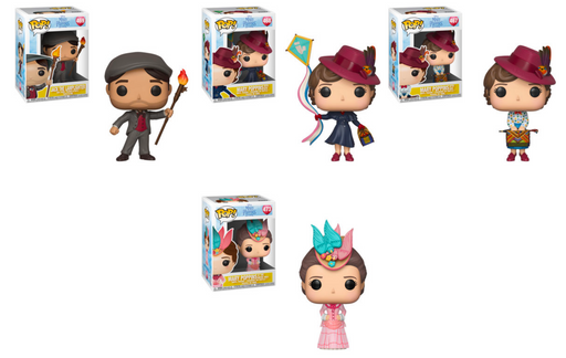 Funko POP! Mary Poppins Returns - Complete Set of 4