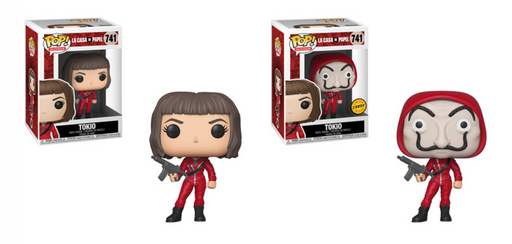 Funko POP! Money Heist (La Casa De Papel) - Tokio Common and Chase Bundle Set #741