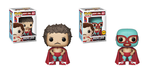 [PRE-ORDER SECOND SHIPMENT] Funko POP! Nacho Libre - Nacho Libre Common and Chase Bundle #647