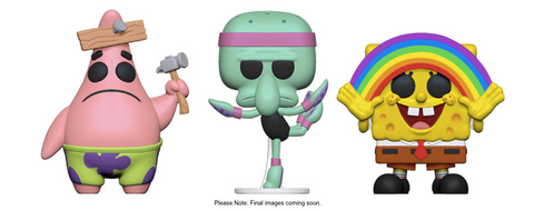 [PRE-ORDER] Funko POP! Spongebob Squarepants - Complete Set of 3