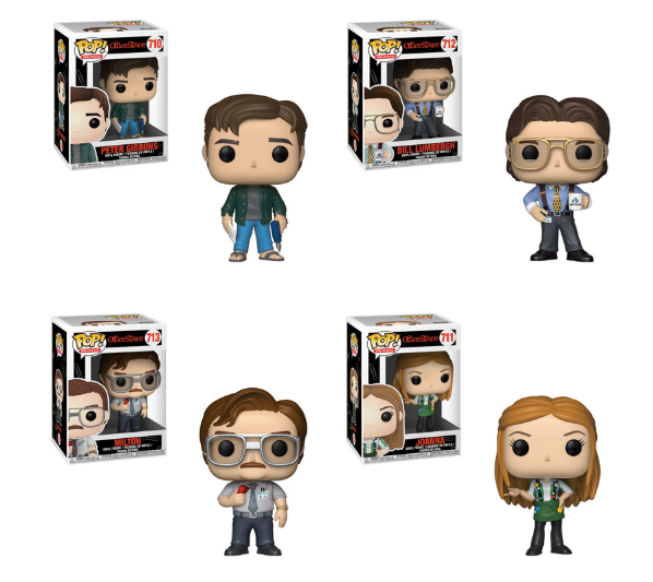 Funko POP! Office Space - Complete Set of 4
