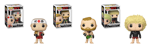 Funko POP! UFC - Complete Set of 3