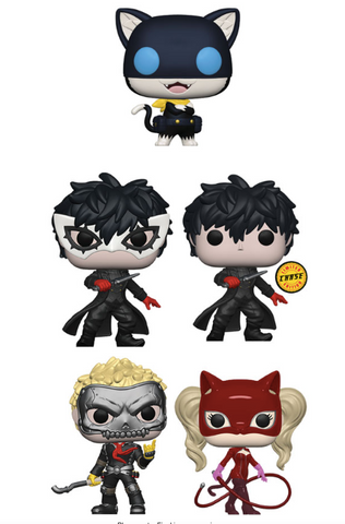 [PRE-ORDER] Funko POP! Persona 5 - Complete Set of 5 Chase Included