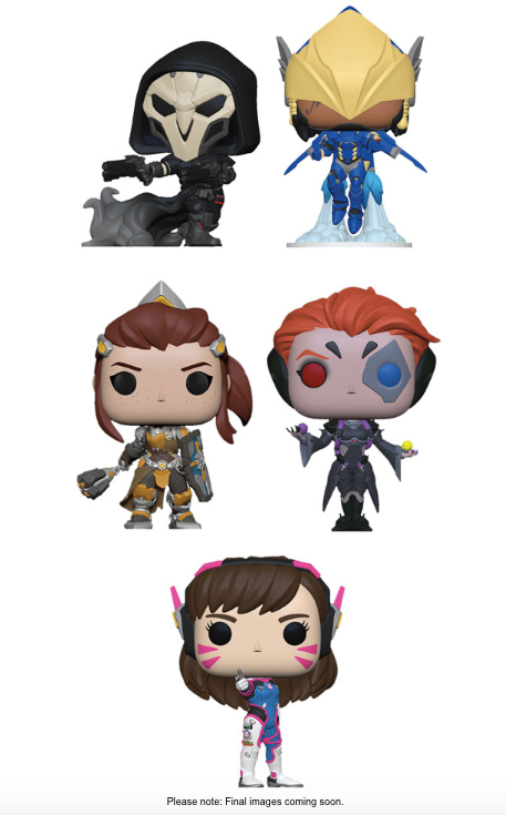 Funko POP! Overwatch - Season 5 Complete Set of 5