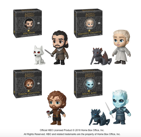 [PRE-ORDER] Funko 5 Star: Game of Thrones - Complete Set of 4