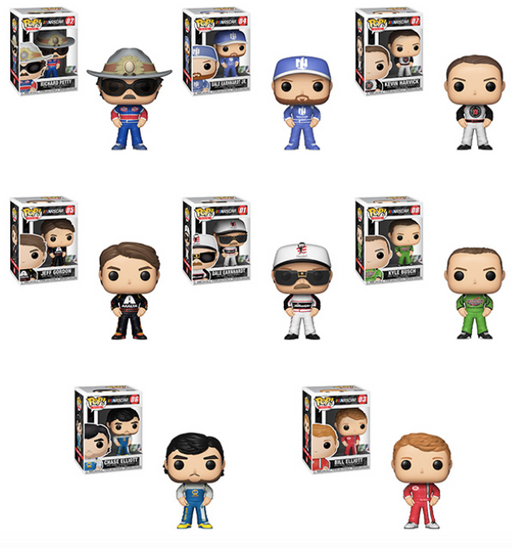 Funko POP! NASCAR - Complete Set of 8