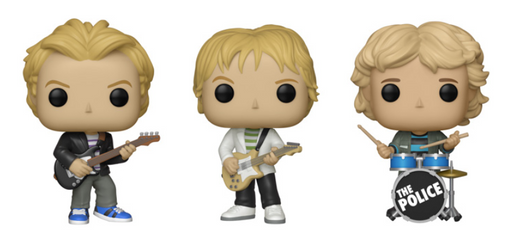 Funko POP! Rocks: The Police - Complete Set of 3