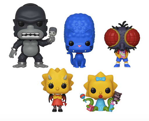 Funko POP! The Simpsons - Treehouse of Horror Set of 5