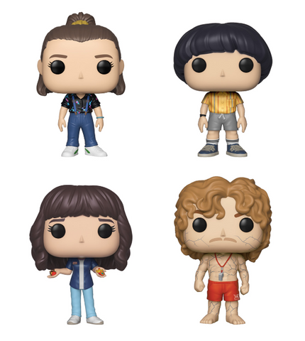 [PRE-ORDER] Funko POP! Stranger Things - Set of 4