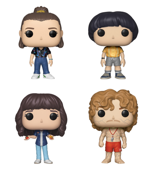 Funko POP! Stranger Things - Set of 4